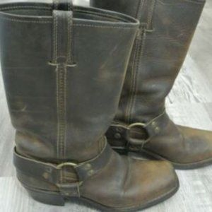 Frye Harness Boots size 8